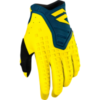 Мотоперчатки Shift Black Pro Glove Yellow/Navy