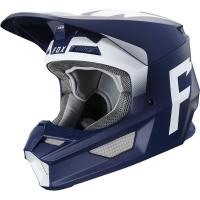 Мотошлем Fox V1 Werd Helmet Navy