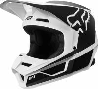 Мотошлем Fox V1 Przm Helmet Black/White