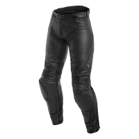 DAINESE ASSEN LADY LEATHER PANTS - BLACK/ANTHRACITE брюки кож