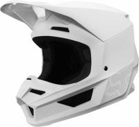 Мотошлем Fox V1 Matte Helmet White