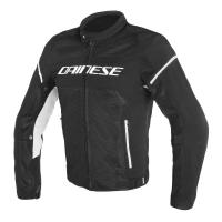 DAINESE AIR FRAME D1 TEX JACKET - BLACK/BLACK/WHITE куртка тек муж