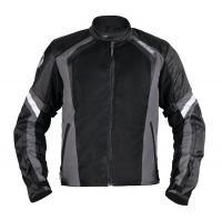 Куртка мужская INFLAME INFERNO II текстиль+сетка, цвет серый купить в интернет-магазине мотоэкипировки в Москве и СПб