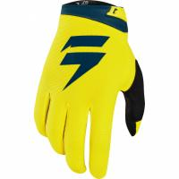 Мотоперчатки Shift White Air Glove Yellow/Navy