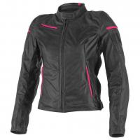 DAINESE MICHELLE LADY LEATHER JACKET - SMOKE/BLACK/FUCHSIA куртка кож жен