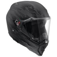 Мотошлем AGV AX-8 NAKED CARBON MULTI FURY CARBON BLACK