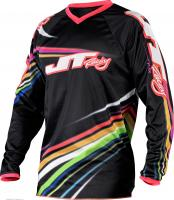 JT Racing ДЖЕРСИ FLEX-FLOW-BLK