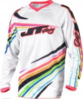 JT Racing ДЖЕРСИ FLEX-FLOW-WHITE