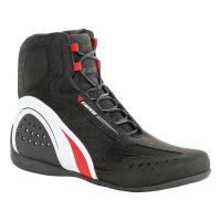 DAINESE MOTORSHOE D-WP SHOES JB - BLACK/WHITE/RED ботинки муж