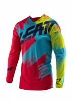 Мотоджерси Leatt GPX 4.5 Lite Jersey Red/Lime