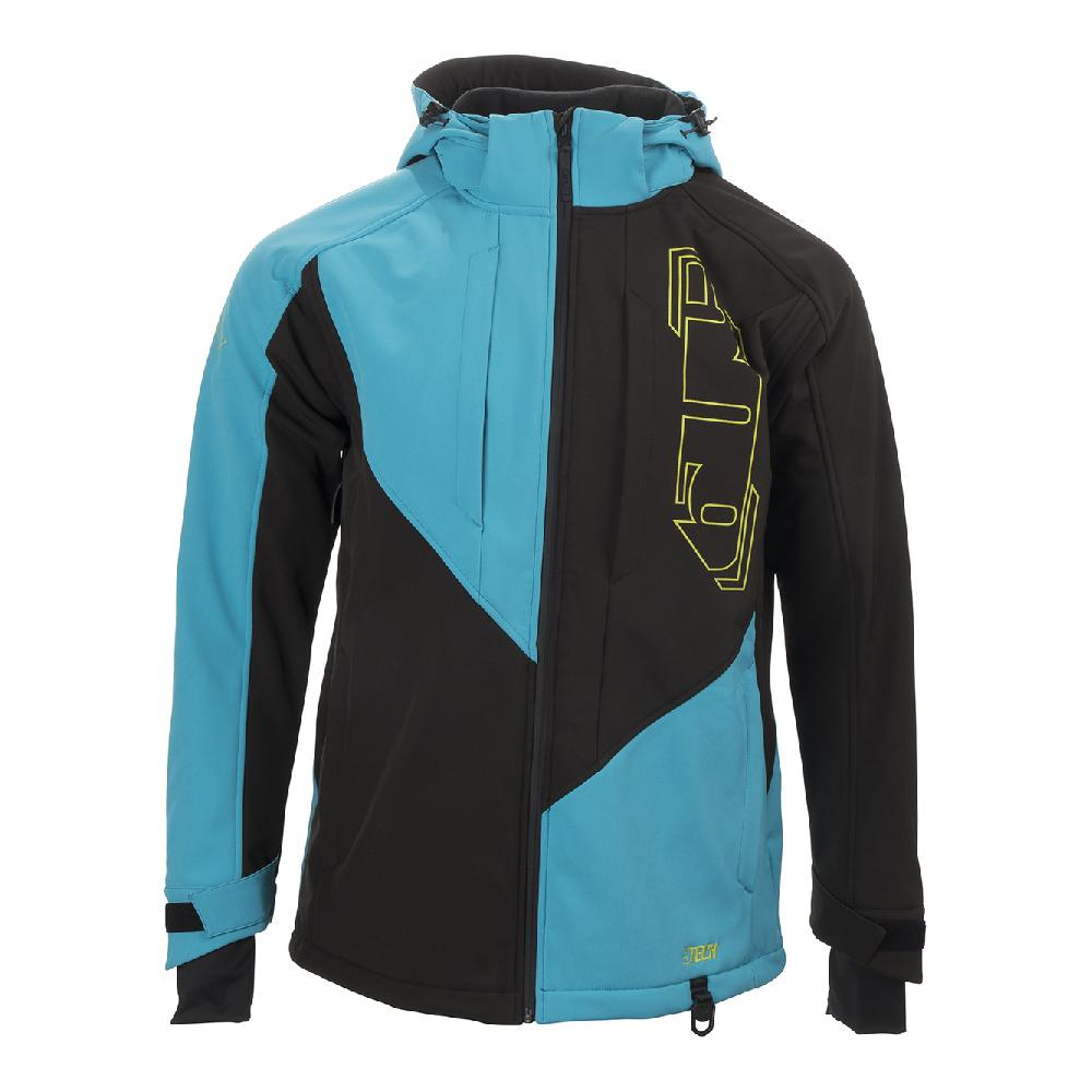Куртка 509 Tactical Elite Softshell Blue Hi-Vis
