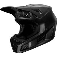 Мотошлем Fox V3 Solids Helmet Matt Black