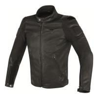 DAINESE STREET DARKER LEATHER JACKET - BLACK куртка кож муж