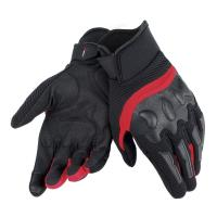 DAINESE AIR FRAME UNISEX GLOVES - BLACK/RED перчатки муж