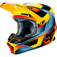 Мотошлем Fox V1 Motif Helmet Yellow