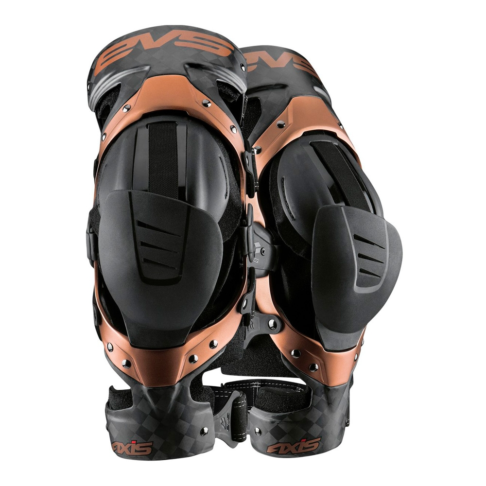 Брейсы EVS AXIS PRO Black / Copper