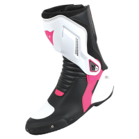 DAINESE NEXUS LADY BOOTS - BLACK/WHITE/FUCHSIA ботинки жен