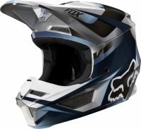 Мотошлем Fox V1 Motif Helmet Blue/Grey