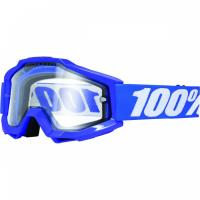 Очки 100% Accuri Enduro Reflex Blue / Clear Dual Lens
