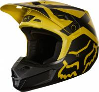 Мотошлем Fox V2 Preme Helmet Dark Yellow