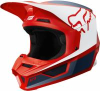 Мотошлем Fox V1 Przm Helmet Navy/Red