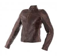 DAINESE MIKE LADY LEATHER JACKET - TESTA DI MORO куртка кож жен