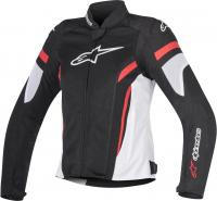 ALPINESTARS Мотокуртка STELLA T-GP PLUS R V2 AIR JACKET черно-бело-красный, 123