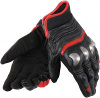 DAINESE X-STRIKE GLOVES - BLACK/FLUO-RED перчатки муж