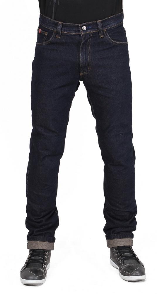Мотоджинсы мужские INFLAME CLASSIC, цвет синий темный купить в интернет-магазине мотоэкипировки в Москве и СПб
