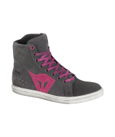 DAINESE STREET BIKER LADY D-WP SHOES - ANTHRACITE/FUCHSIA ботинки жен