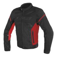 DAINESE AIR FRAME D1 TEX JACKET - BLACK/RED/RED куртка тек муж