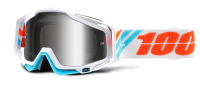 Очки 100% Racecraft Calculus Ice / Mirror Silver Lens