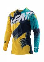 Мотоджерси Leatt GPX 4.5 Lite Jersey Gold/Teal