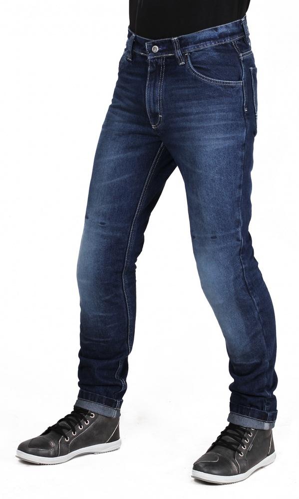 Мотоджинсы мужские INFLAME CLASSIC, цвет синий купить в интернет-магазине мотоэкипировки в Москве и СПб